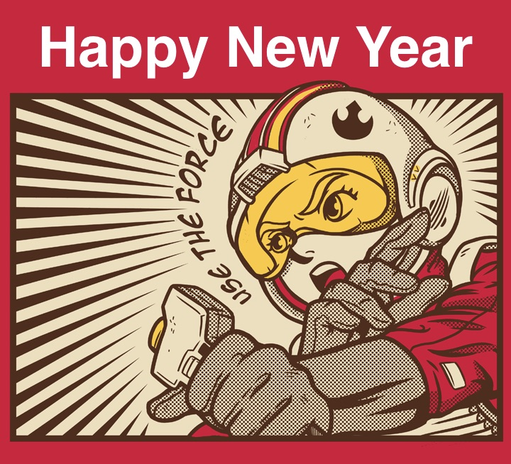 Speed Racer Happy New Year